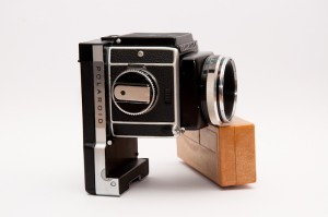 Rolleiflex SL66 with Polaroid back