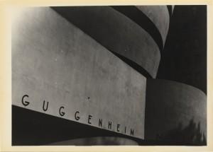 N.Y. Guggenheim Caffenol Print